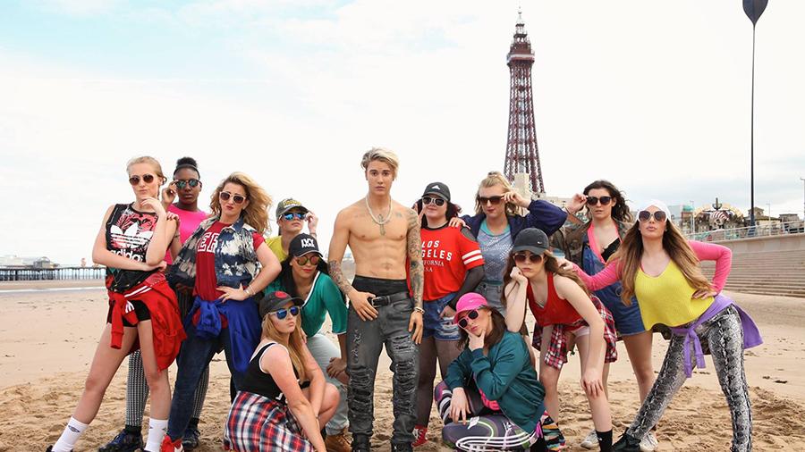 Justin Bieber Waxwork - Blackpool